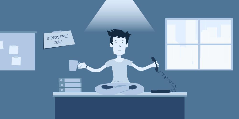 چهار روشی که سیستم ویپ به کاهش استرس کارکنان کمک میکند